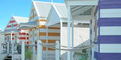 Beach Huts, Middleton, South Australia (not far from Adelaide). Beach huts to rent as holiday accommodation.-I'm living here Cheap Accommodation, Holiday Accommodation, Middleton Beach Huts, Sa Tourism, Ranch, Beach Shack, South Australia, Australia Hotels, Australia Trip