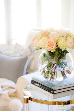 Tips to Warm up your Home after Christmas fresh cut flowers are everything!- Randi Garrett Design