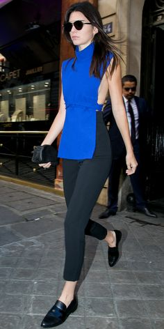 Kendall Jenner's Chic Street Style - September 30, 2015  - from InStyle.com