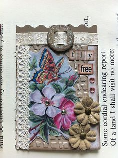 Spring Fever ATC - butterfly | Flickr - Photo Sharing!