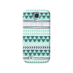 Winter Stripes Samsung Galaxy S4 Case from Cyankart