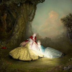 On October 22nd, the Corey Helford Gallery will be presenting Ray Caesar's first solo show  Entitled A Dangerous Inclination, the new body of work will feature the Toronto-based artist's unique process of setting up 3D environments.