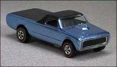 Custom Fleetside (Hot Wheels design:  Harry Bradley), 1968.