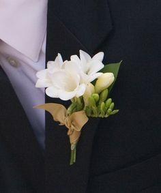 #Boutonnière #mariage #fleurs