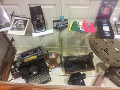 """Nevins Library Teen Tech Week 2014 """"Museum of Old Technology!"""""""
