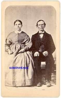 Indiana Quaker Couple