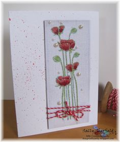 Cinnamon Sally Designs: Flowers!