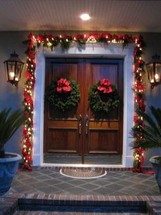 Inviting entrace to a holiday home
