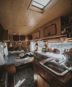 "9,575 Likes, 81 Comments - Vanlife Diaries (@vanlifediaries) on Instagram: ""We've always loved this beautifully crafted home. @bloured and @georgmichaelis have a life that…"""
