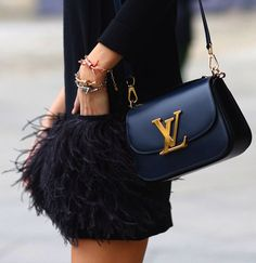 feather skirt + bag