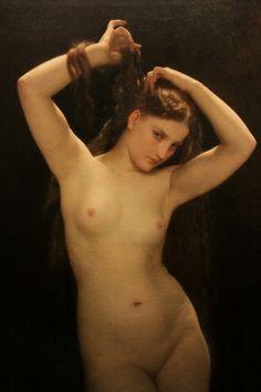 Bather (1870), William Bouguereau