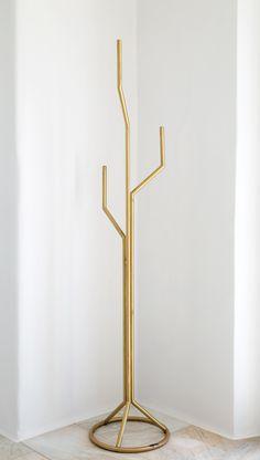 cactus coat rack  design: eleftherios ambatzis material: bronze Rack Design, Cactus, Objects, Bronze, Coat, Home Decor, Sewing Coat, Decoration Home, Room Decor