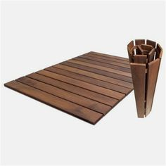 Roll Floor Indoor/Outdoor 24 x 36 Wood Deck Tile in Oiled Outdoor Rugs, Indoor Outdoor, Ikea Outdoor Flooring, Ikea Patio, Outdoor Decking, Wood Deck Tiles, Ikea Deck Tiles, Interlocking Deck Tiles, Westminster