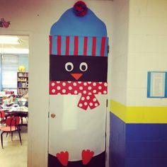 Winter Classroom Door Decoration- Penguin