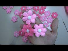 Papatya Puf Lif Çiçeği Yapımı | Örgü Modelleri ♥ - YouTube