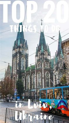 Top 20 selected things to do in #Lviv, the cultural capital of Ukraine, including cultural and foodie places. | #Ukraine