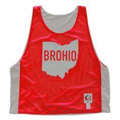 Ohio Brohio Lacrosse Pinnie
