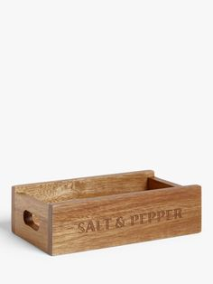I found this at John Lewis & Partners. What do you think? Shell Station, Salt And Pepper Mills, John Lewis Shops, Wood Oil, Name Day, Collection Services, Acacia Wood, Kitchen Countertops, Modern Living
