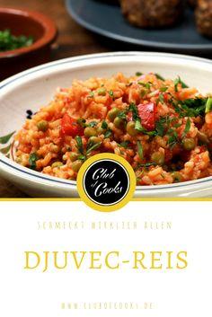 Djuvec-Reis ist ein tolles Gericht, was wirklich schnell zuzubereiten ist und allen schmeckt, Groß und Klein!