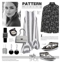 """Monochrome fashion"" by cly88 ❤ liked on Polyvore featuring Paper London, Teva, Isabel Marant and Bling Jewelry"
