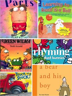 Funny Rhyming Picture Books for You and Your Child.