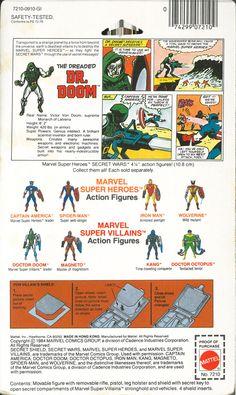 Marvel Super Heroes Secret Wars - Doctor Doom. I still have this guy somewhere...