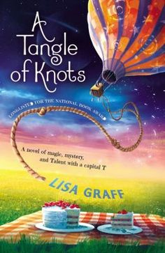 A Tangle of Knots is about a girl named Cady who has the talent of baking cakes. This talent takes her on an exciting journey.  It is AMAZING! I think it is a good book for a 3rd-5th grader.  It is so good; I'm not going to tell you any part of it so that you can find out by reading.  By Kate