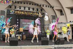 XII Festival Brasil 2017 no Parque Yoyogi em Tokyo