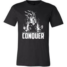 Super Saiyan Gohan Conquer Long Sleeve T shirt, hoodie, tank top