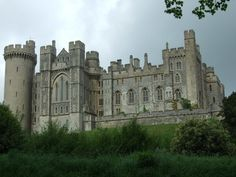 Arundel Castle in Sussex, England