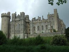 Arundel Castle in Sussex, England