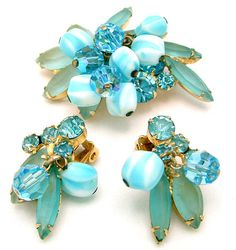 Vintage Juliana Brooch and Earrings Set