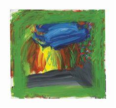 In Raimund Stecker's Garden · Howard Hodgkin Frank Auerbach, Howard Hodgkin, 2 Colours, Garden Projects, Printmaking, Abstract Art, Artsy, British, Paintings