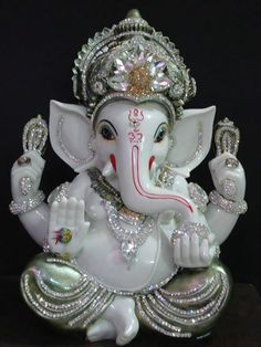 How to become your Home looking more better with... White Ganesha 1. Marble Finished excellent pcs 2. Specialy Desi - with unique Zorcons fitting technics 3. The entire pcs is washable & five year warranty ( not for damage of stones ) . 4. Free shipping all over world  For order ---- +91-9815483945 ( for whatsapp also ) Price --- 8500/---- $ 144 usd dollars