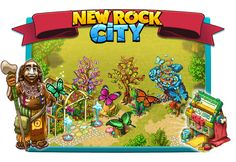 New Rock City: Butterfly Collection Create Yourself, Create Your Own, Paradise City, Prehistoric, Butterfly, Rock, Collection, Stone, Prehistory