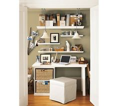 Porter Pendant & Modern Collection Shelf and Ledges from  Pottery Barn