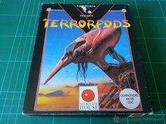 Terrorpods PSYNOGSIS DISCO Commodore 64 C64 Juego