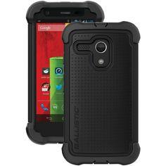 Ballistic Moto G By Motorola Tough Jacket Maxx Case With Holster (black)