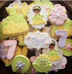Disney's The Frog Princess (Decorated Cookies)