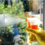 How To: Make Your Own Window Cleaner  MATERIALS AND TOOLS - Vinegar - Liquid dish soap - Water - Essential oils (optional) - Spray bottle