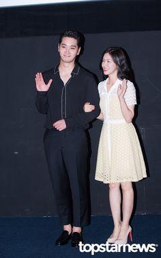 [HD포토] 투피엠(2PM) 찬성-경수진 매력 넘치는 선남선녀 #topstarnews