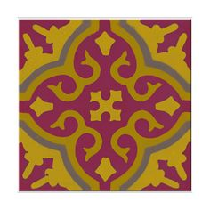 Morrocan Tile vinyl applique floor covering :: Custom Temporary Vinyl Adhesive Floor Covering :: Home (£6.18) found on Polyvore
