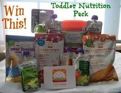 Enter to win this @HappySuperFoods toddler nutrition gift pack!