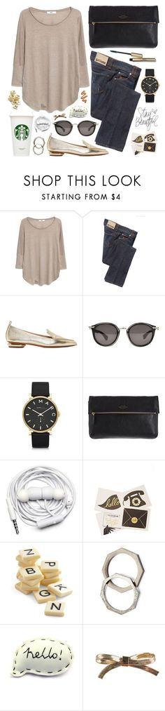 """""""I'd do anything for your love now"""" by steffywhoelse ❤ liked on Polyvore featuring MANGO, Galliano, Nicholas Kirkwood, Moncler, Marc by Marc Jacobs, Smythson, Urbanears, Rifle Paper Co, Bananagrams and Cheap Monday"""