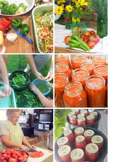Beautiful family shares their canning prep. Beautiful whole food.