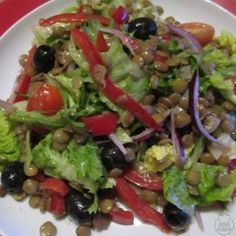 Soba Salad with Miso Dressing Soba Salad, Caprese Salad, Noodle Salad, Miso Dressing, Salad Dressing, Guacamole, A Table, Food And Drink, Vegan