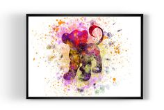 Lion King Simba Disney Print Art Print Art Print by MulticolourArt