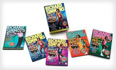 """Groupon - $25 for the Richard Simmons """"Sweatin' to the Oldies"""" DVD Set ($49.95 List Price). Free Shipping and Free Returns. in Online Deal. Groupon deal price: $25.0.00"""