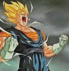 Dragon Ball Z, Dbz Super Manga, Dbz Drawings, Goku Drawing, Gogeta And Vegito, Ssj3, Akira, Side Tattoos, Art Reference Poses