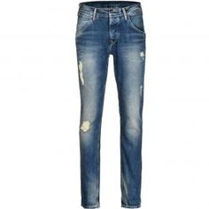 Ανδρικό jean Pepe FLINT PM201517K384 BLUE Skinny Jeans, Pants, Blue, Fashion, Trouser Pants, Moda, Fashion Styles, Women's Pants, Women Pants